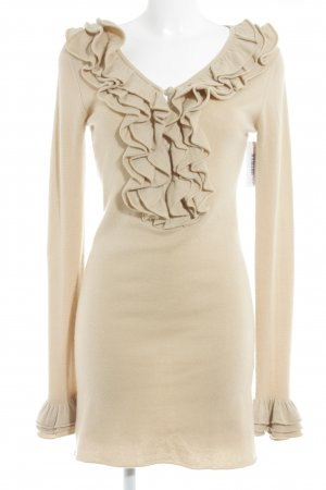 Heartbreaker Langarmkleid beige Street-Fashion-Look
