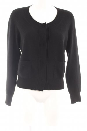 Heartbreaker Strick Cardigan schwarz Casual-Look