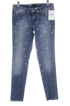 heartless jeans Skinny Jeans blau-blassblau Sternenmuster Casual-Look