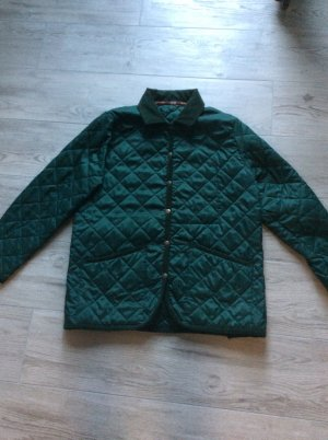 Quilted Jacket forest green