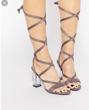 Public Desire High Heel Sandal grey