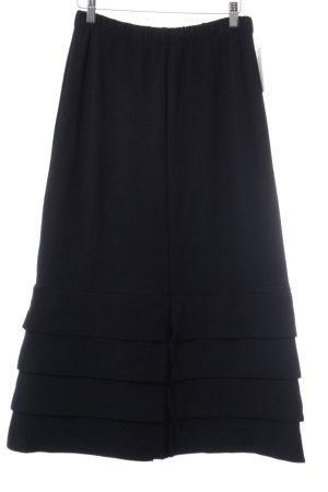 Heide Ost Pencil Skirt dark blue classic style