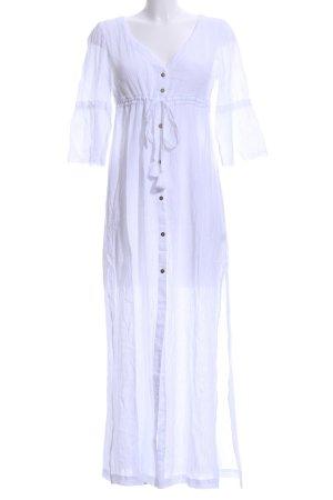 Heidi klein Maxi-jurk wit-goud Beach-look