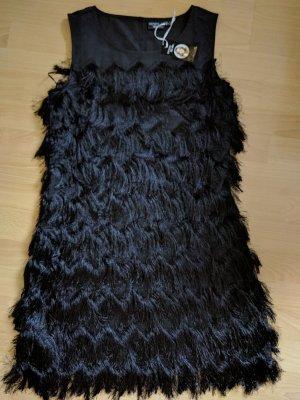 Esmara by Heidi Klum Abito con frange nero Poliestere