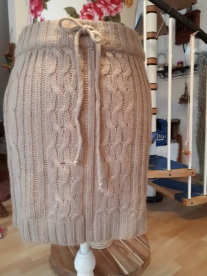 Heidi klein Gonna lavorata a maglia beige chiaro