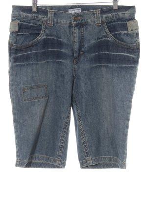 Heine 3/4-jeans staalblauw casual uitstraling