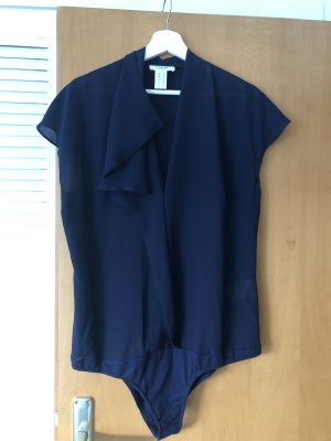 Heine Bodysuit Blouse dark blue