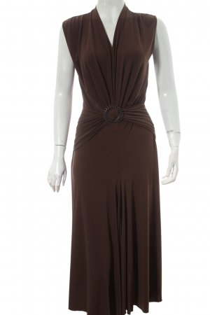 Heine Abendkleid braun Casual-Look