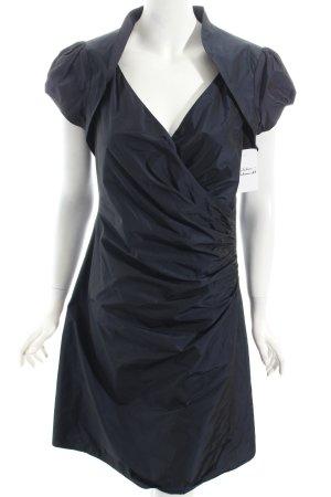 Heine Abendkleid dunkelblau klassischer Stil
