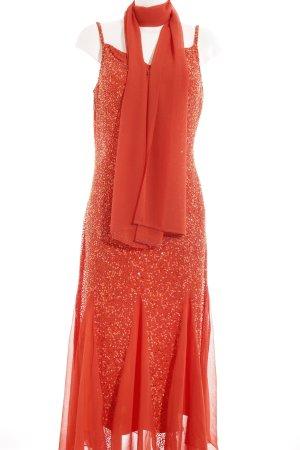 Heine Abendkleid dunkelorange-orange Elegant