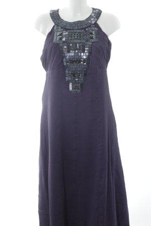Heine Abendkleid grauviolett Elegant