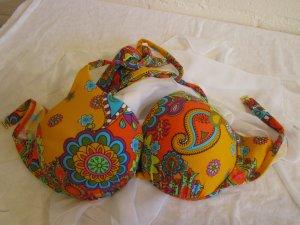 HEINE: Bikinioberteil, im Nacken zu Binden, Gr. 40 Cup C