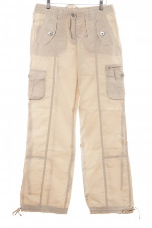 Heine Cargo Pants oatmeal simple style