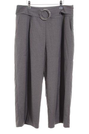 Heine Pantalone culotte grigio chiaro stile casual