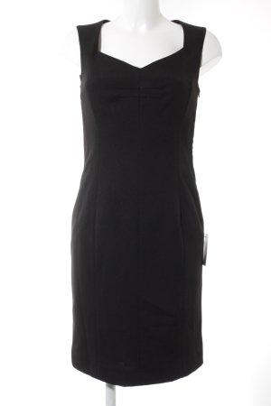 Heine Vestido ceñido de tubo negro estilo «business»