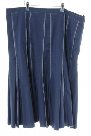 Heine Godet Skirt blue casual look
