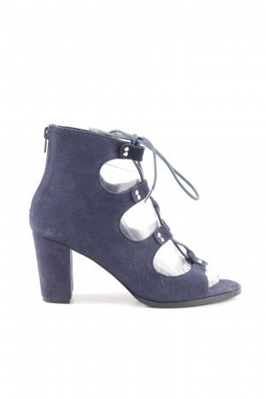 Heine High Heel Sandaletten blau Casual-Look