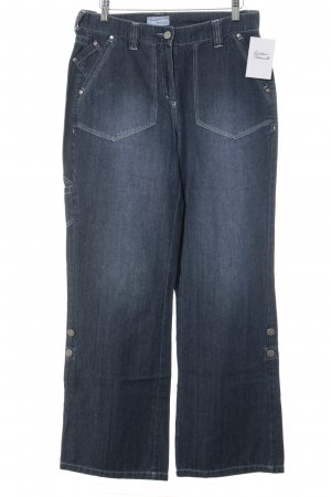 Heine High Waist Jeans kornblumenblau-blau Casual-Look