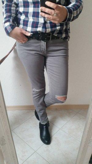 Heine Jeans 40 dunkel grau