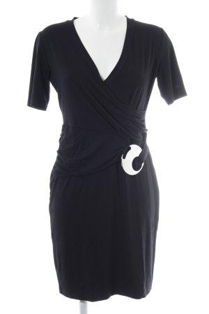Heine Jerseykleid schwarz extravaganter Stil