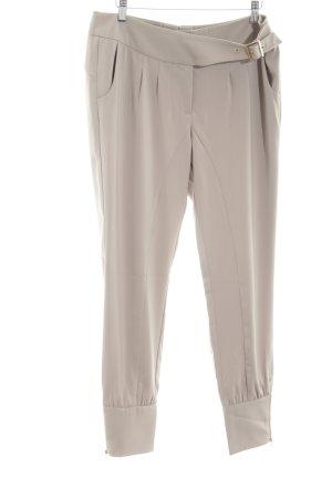 Heine Pantalón de pinza alto blanco puro look casual