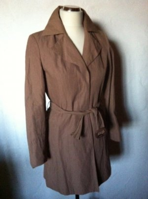 Heine Trench Coat light brown cotton
