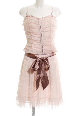 Heine Tailleur rosa pallido stile stravagante