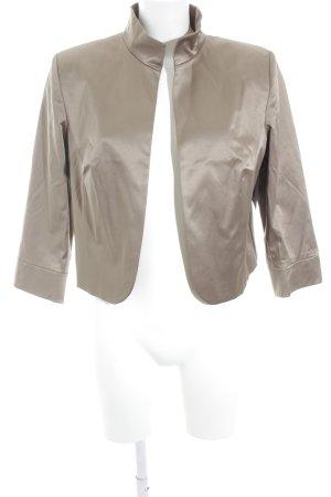 Heine Blazer corto color cammello stile casual