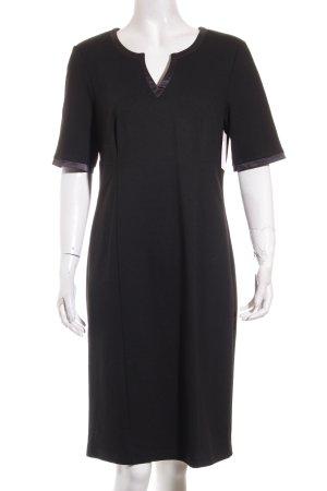 Heine Kurzarmkleid schwarz Elegant
