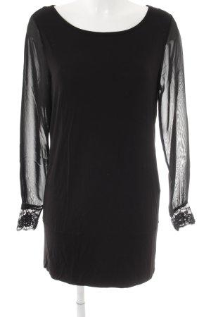 Heine Langarm-Bluse schwarz Elegant