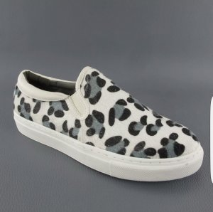 Heine - Loafer / Slipper - Gr. 39 - Animal-Print
