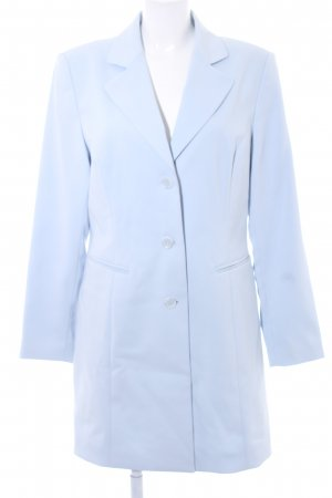 Heine Long-Blazer himmelblau Business-Look