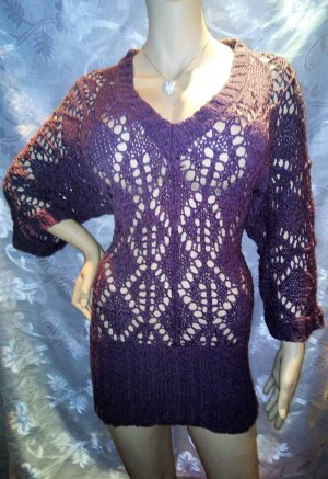 HEINE Pullover in gr 36/38 Farbe Pflaume