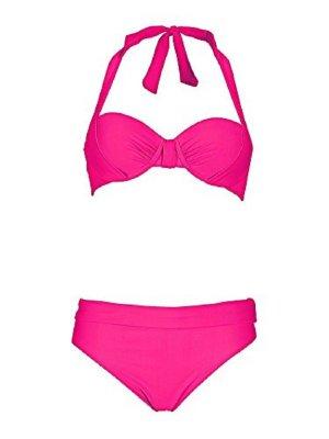 Heine Softcup-Bikini, pink, 42 D-Cup