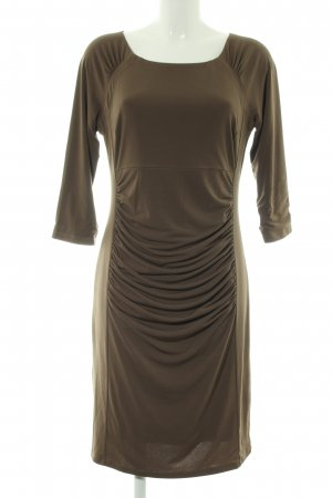 Heine Stretchkleid bronzefarben Business-Look