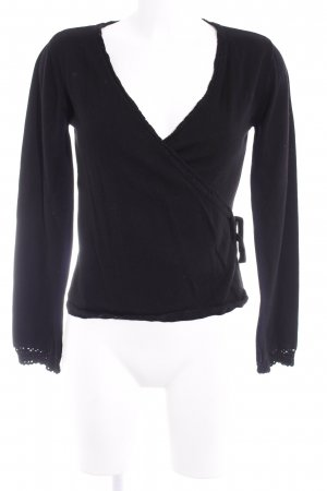 Heine Strickjacke schwarz Casual-Look