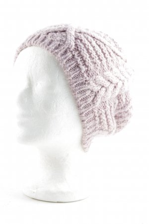 Heine Knitted Hat dusky pink casual look
