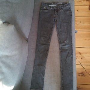 heisse Jeans dunkelgrau 27