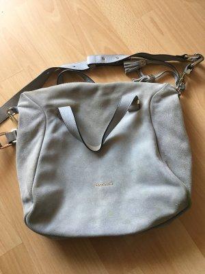 Heißgeliebte Hobo-Bag von Coccinelle aus grauem Wildleder