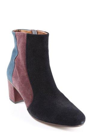 Helen Billkrantz High Heel Sandal color blocking casual look