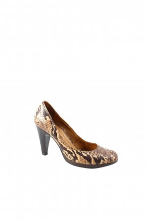 Helen Billkrantz High Heels Animalmuster Reptil-Optik