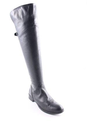 Helen Billkrantz Rijlaarzen zwart klassieke stijl