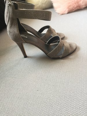 Helen Billkrantz High-Heeled Sandals light grey