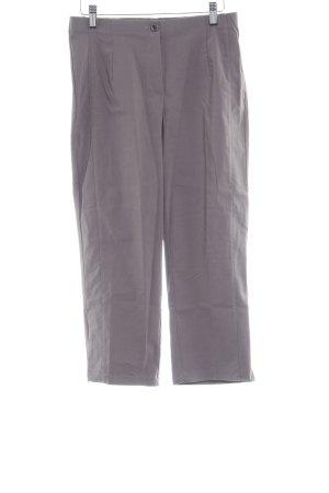 Helena Vera Pantalone a 7/8 marrone-grigio stile classico