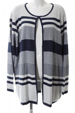 Helena Vera Strick Cardigan grafisches Muster Casual-Look