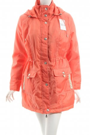 Helena Vera Übergangsjacke orange-hellbeige Casual-Look