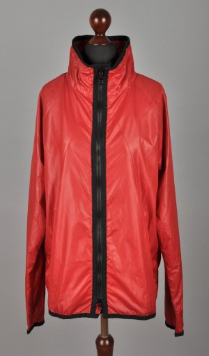 Clément Raincoat red polyamide