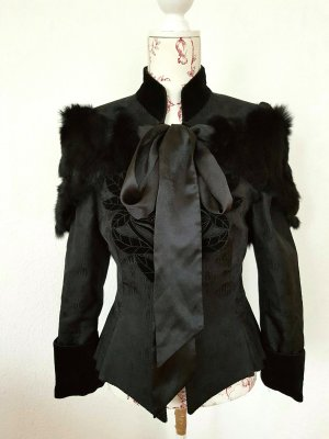 Helene Straßer Trachtenjacke viktorianisch victorian Goth Halloween gr 36/38