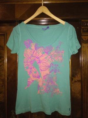 hell blaues Mexx T-shirt