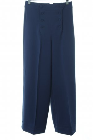Hell Bunny Marlene Trousers blue '50s style